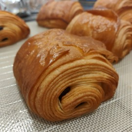 Pains au chocolat du xeek-end au beurre AOP