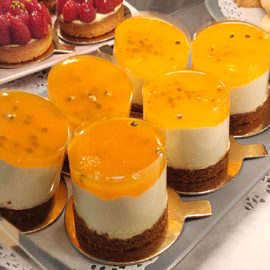 Cheese cake passion individuel