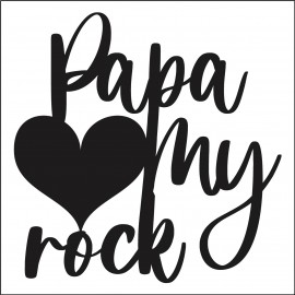 Sachet de  cookies Papa My Rock