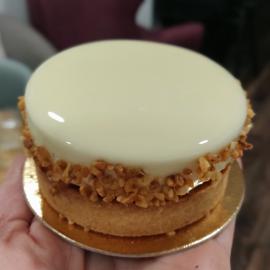 Tartelette noisette/gingembre