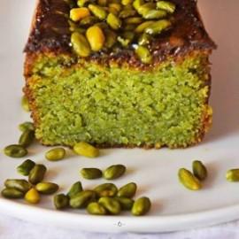 Cake pistache à la part